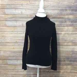 Vintage Lilly Pulitzer black turtleneck sweater XS